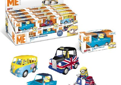 voiture pack minions